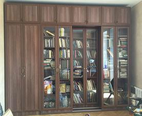 Раздвижные библиотеки от производителя по вашим размерам.